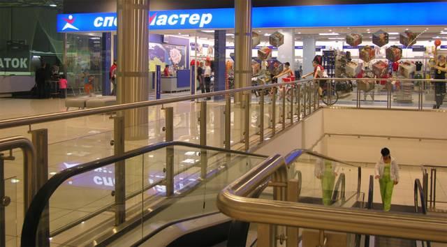 Перегородка для торговых центров