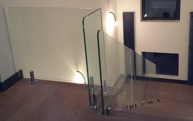 Перегородка в квартире из стекла